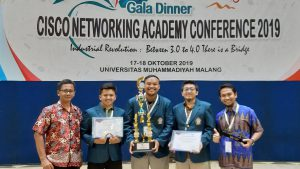 Abda Rafi Meraih Juara 2 pada Kompetisi Jaringan dan Keamanan Siber Indonesia 2019